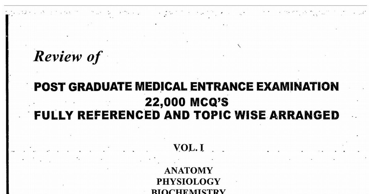 DOWNLOAD PULSE PG MCQ BOOKS FOR YOUR EXAM PREPARATIONS  ALSO YOU CAN