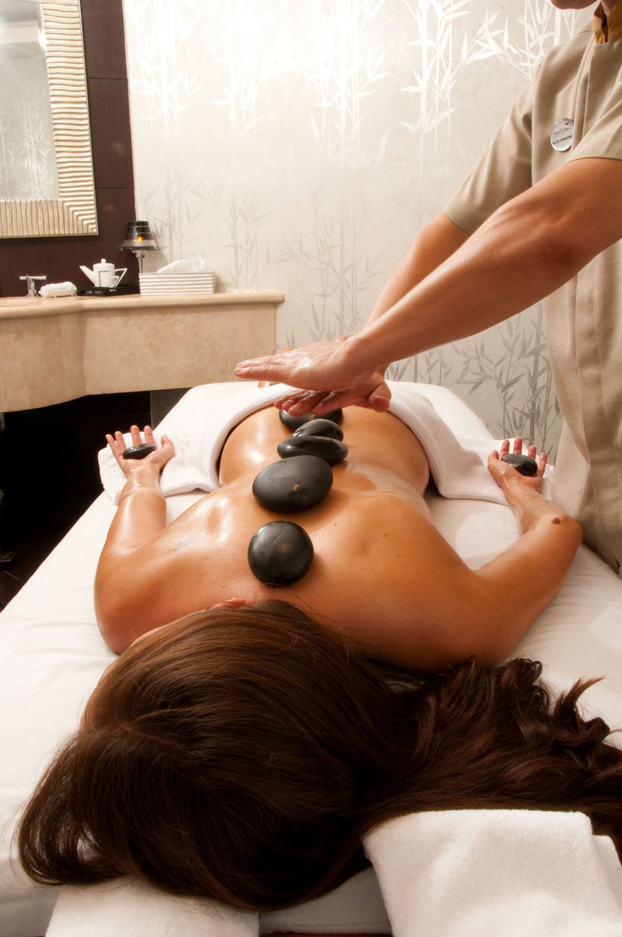 Massage is an excellent method to improve lymph movement and blood flow. #relax #massage #salonlife