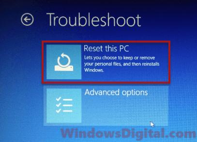 how to disable preparing automatic repair windows 10