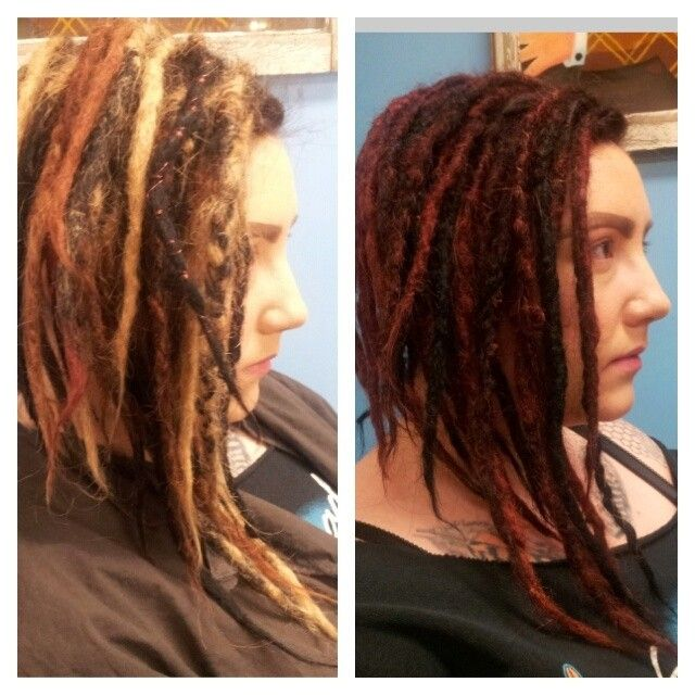 Jess Dreadlock Color G Spot Iowa City And Chicago Staff Color By
