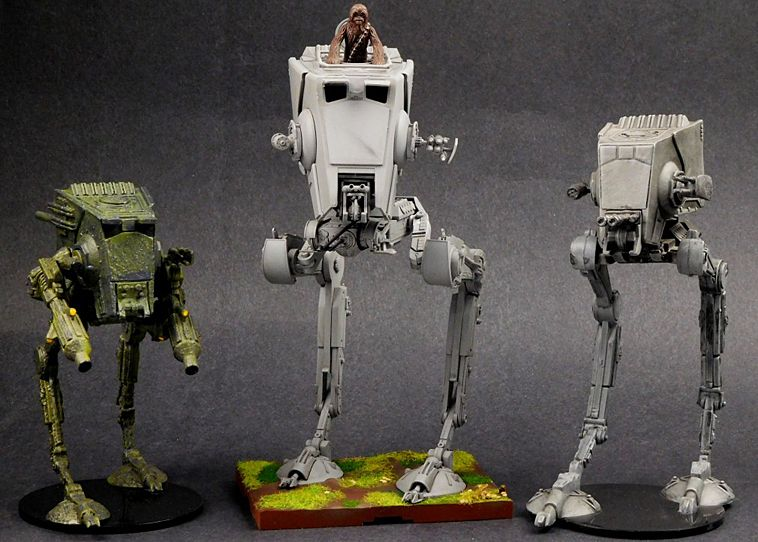 Bandai 1/48 AT-ST Walker Model Kit | Models/Dioramas/ 1