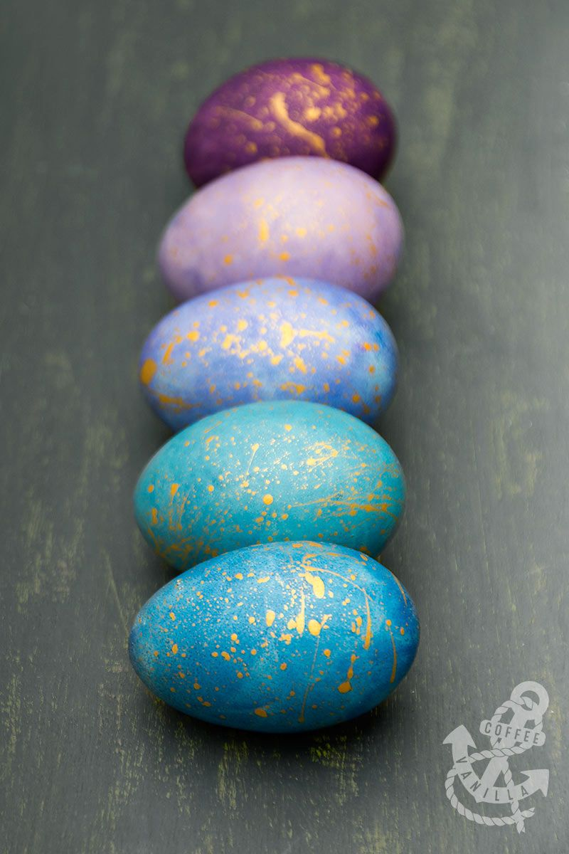 how to paint easter eggs with watercolours