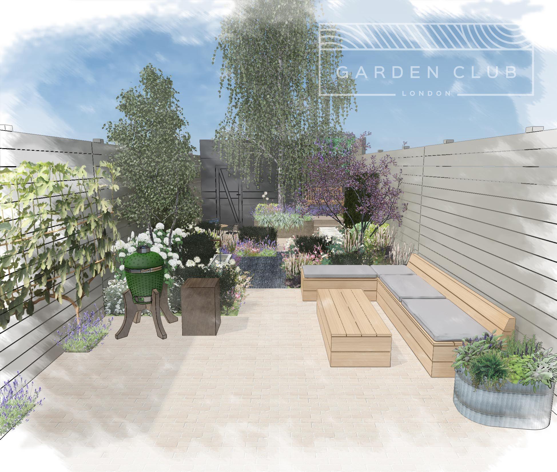 Small Garden Design Garden Design London Urban Garden Design London Garden
