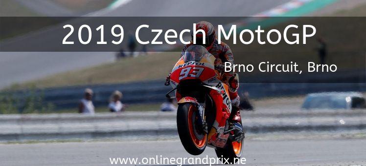 2019 CZECH REPUBLIC MOTOGP LIVE STREAM Grand prix