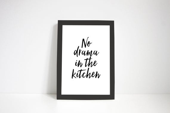 Kitchen rules - typography print #kitchenrules