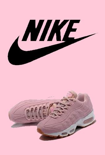 fond d'ecran Nike air max 95 rose