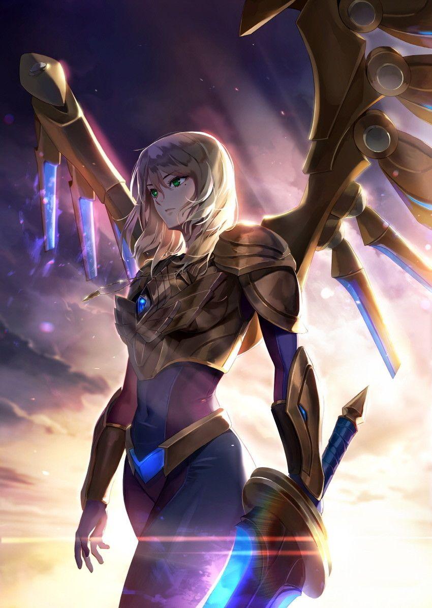 League Of Legends Lol League Of Legends League Of Legends League Of Legends Characters Aether wing kayle league of legends