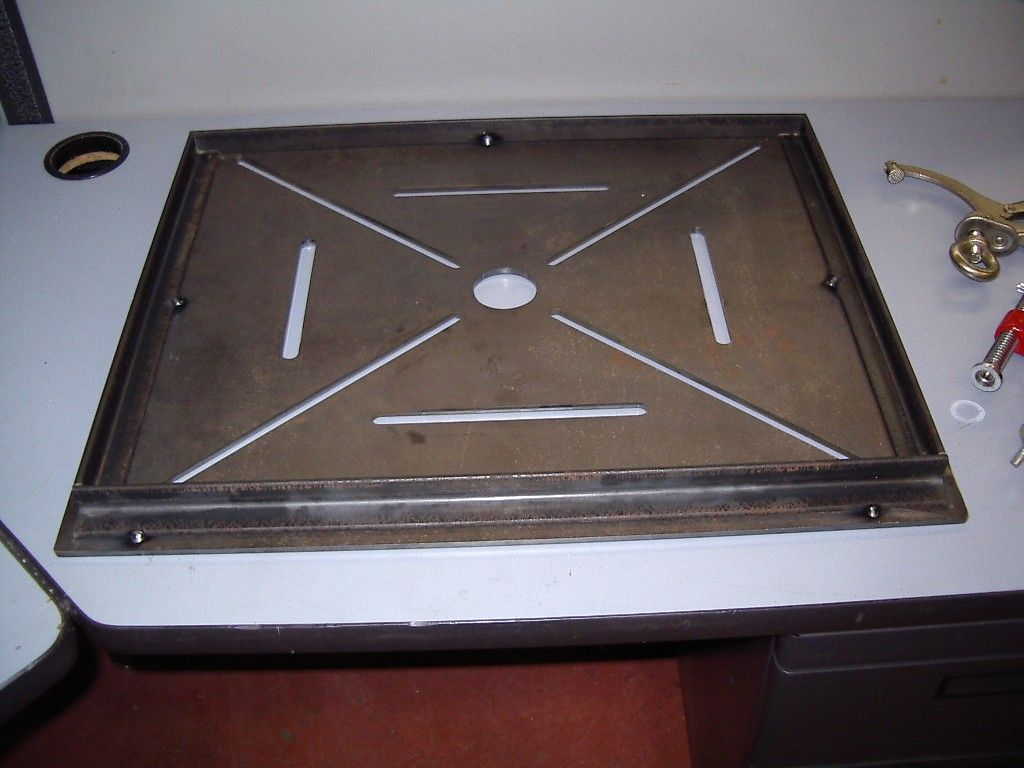 folding welding table by rmm727 homemade folding welding table constructed from cnccut