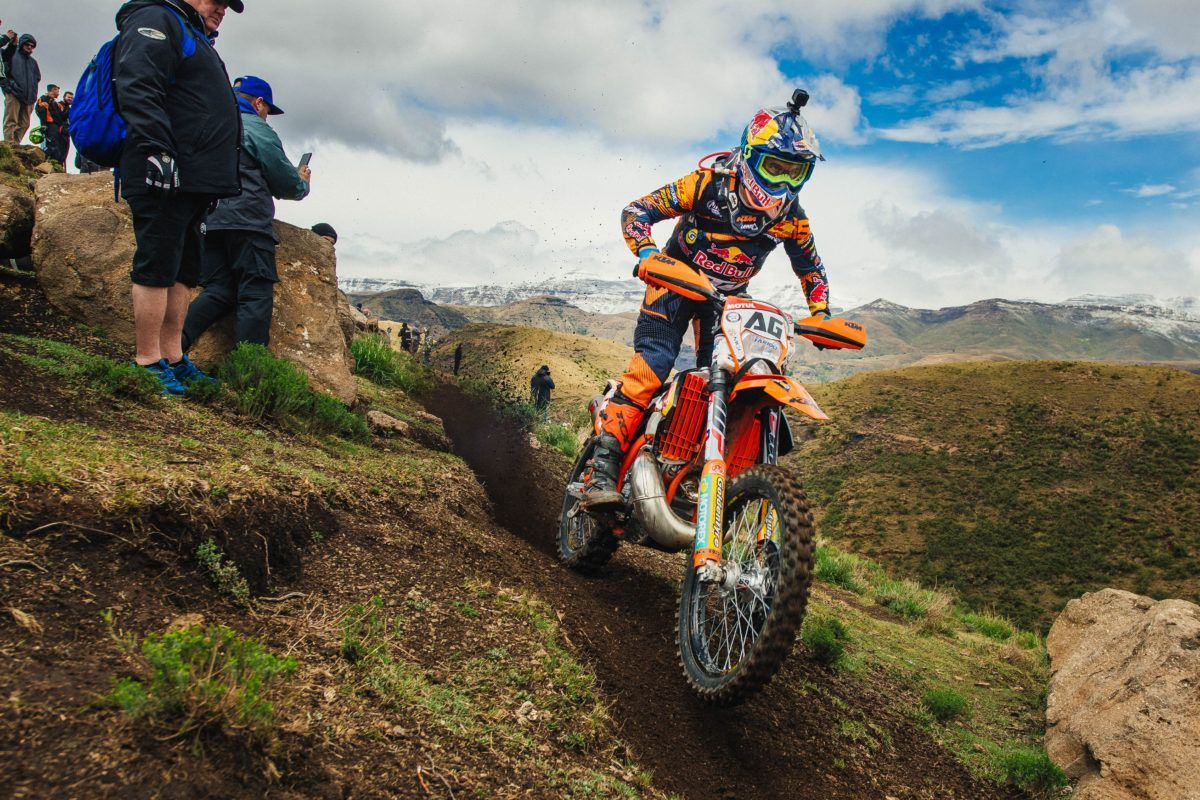 Red Bull Ktm S Alfredo Gomez Completes Roof Of Africa In Fifth