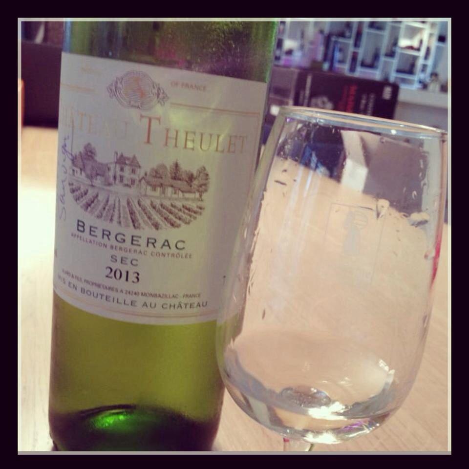 #bergerac2013 100% sauvignon #chateautheulet #oinos #wijnhuisoinos