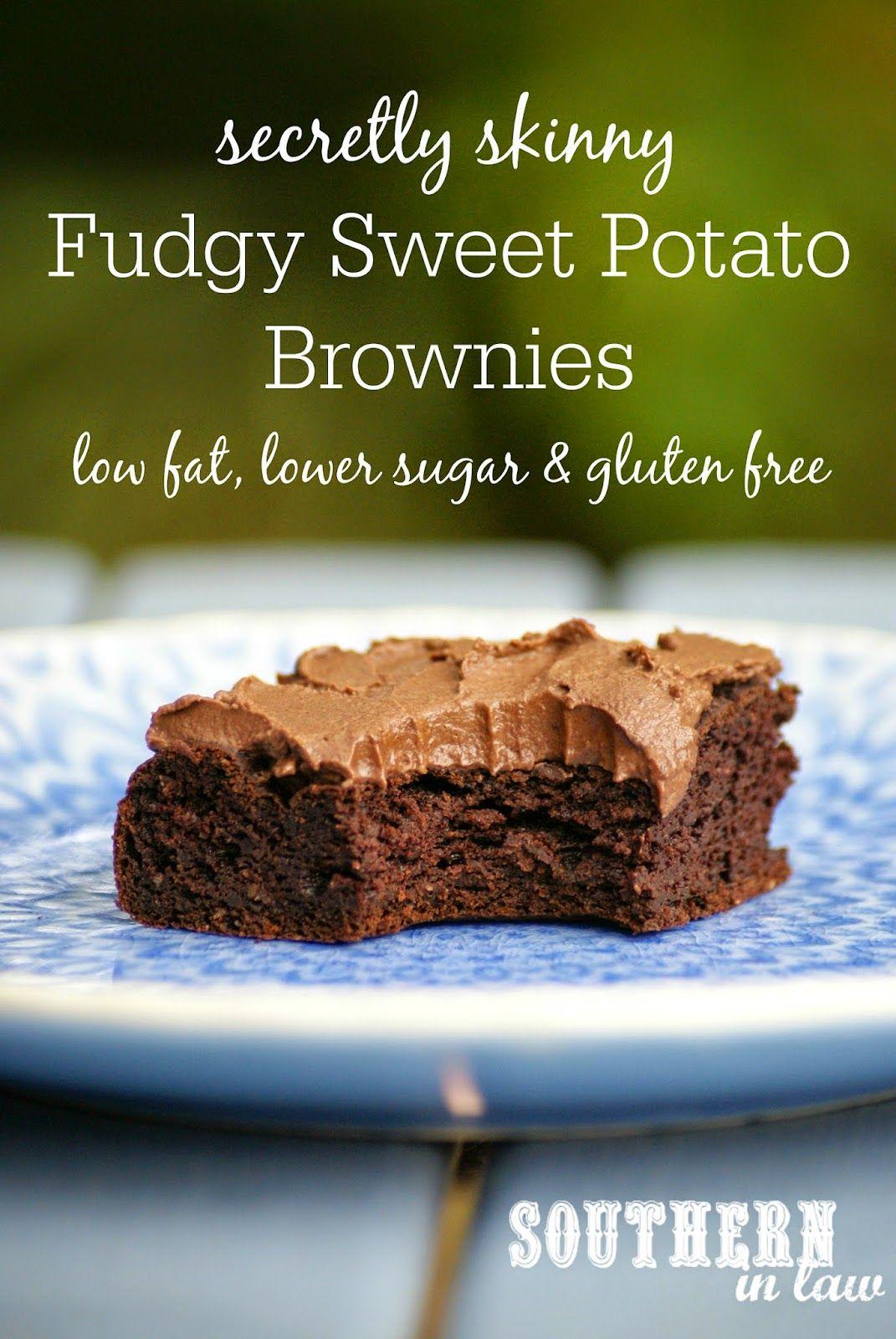 Recipe: Secretly Skinny Fudgy Sweet Potato Brownies ...