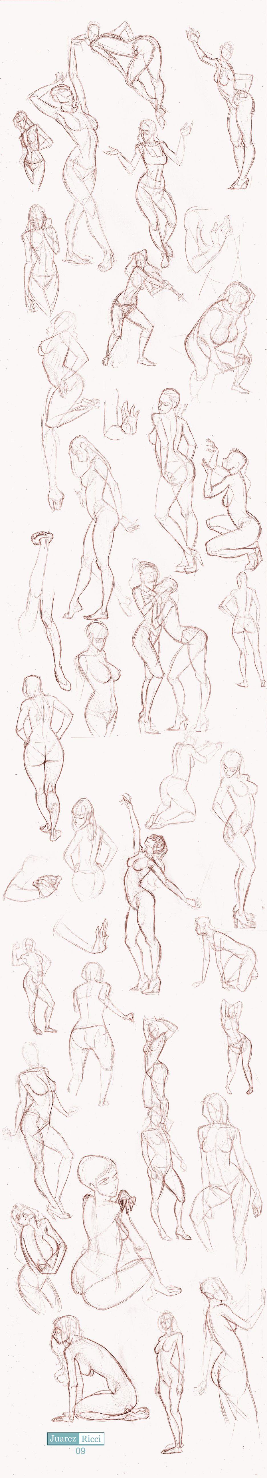 Studies Part II by juarezricci.deviantart.com on @deviantART ...
