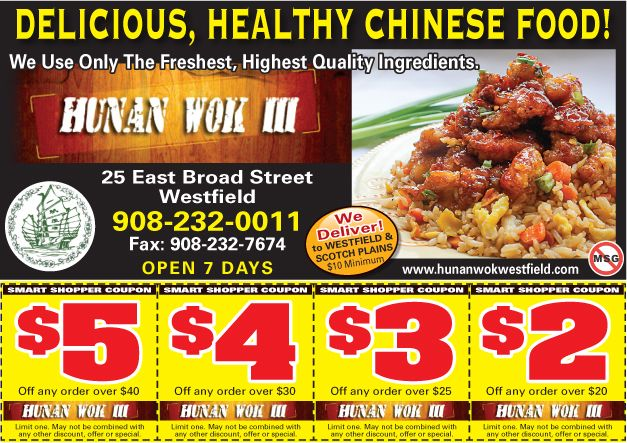 Looking For Some Healthy Chinese Food Visit Hunan Wok Iii In Westfield Healthy Chinese Recipes Food Healthy