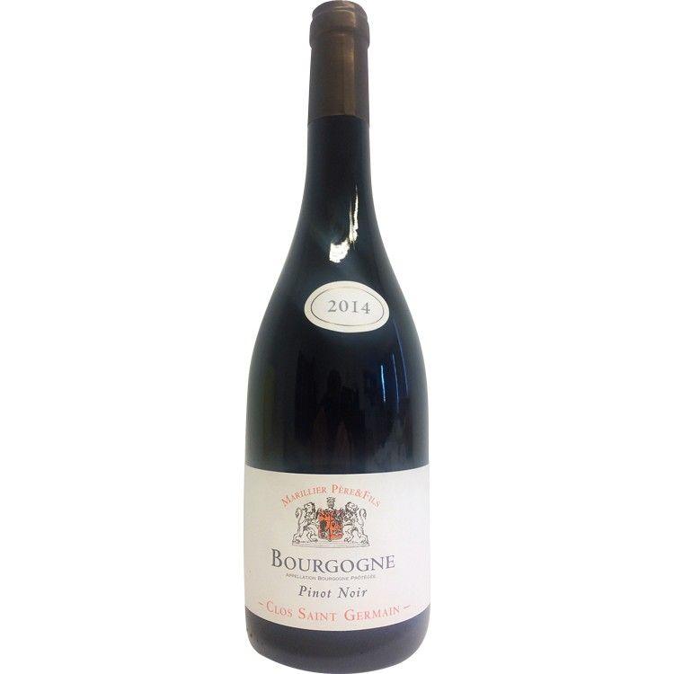 Bourgogne pinot noir domaine saint germain pinot noir