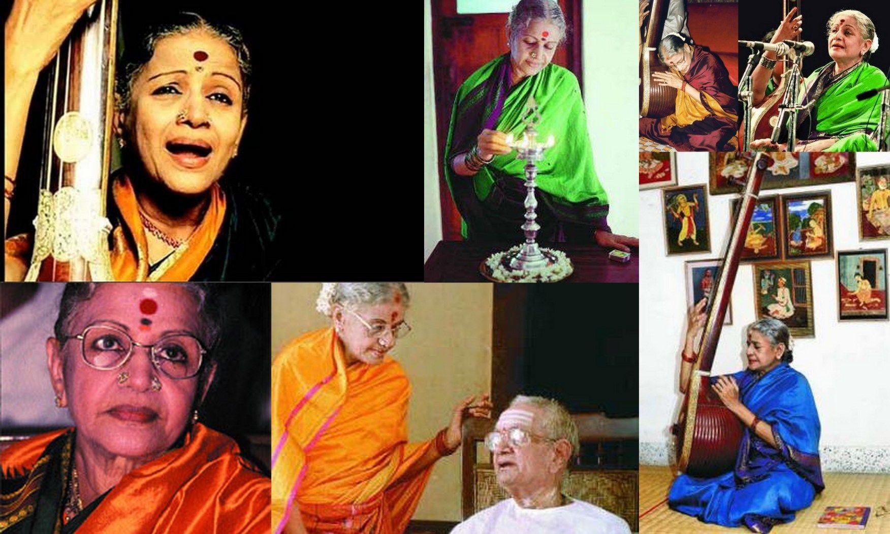 The Many Moods Of Ms Subbulakshmi In Kanjeevarams Via 1 2