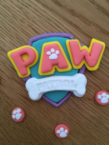 Paw Patrol Edible Cake Topper Birthday Girls Cake Ideas Paw