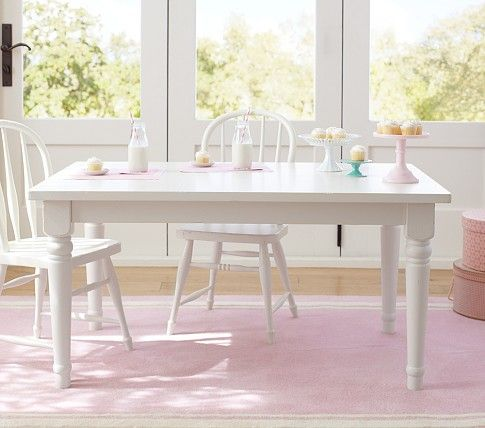 Kids Farmhouse Large Table Pottery Barn Kids Play Table Chairs