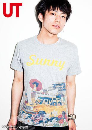 ユニクロ tシャツ特集 松本 大洋 taiyou matsumoto ユニクロオンラインストア store uniqlo com tシャツ デザイン ユニクロ tシャツ tシャツ