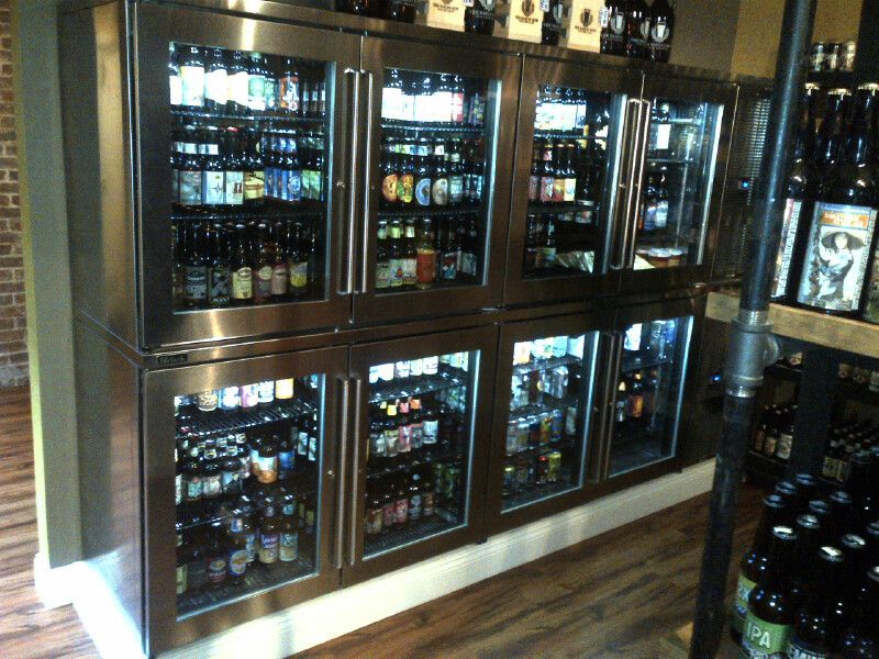 Patrons at barley mow craft beer house can make their own for Take craft beer back