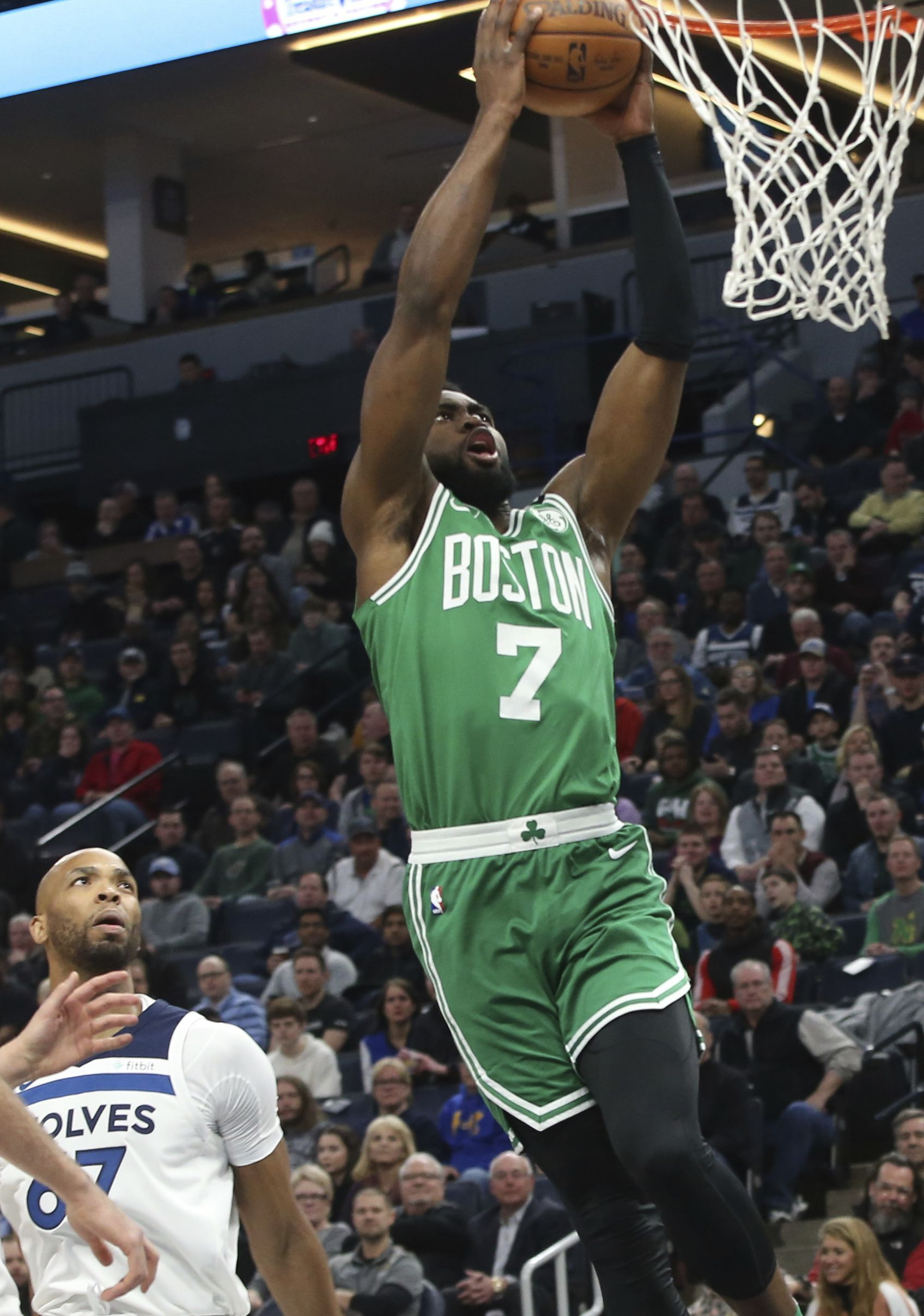 Celtics Jaylen Brown Recounts Fall That Caused Concussion