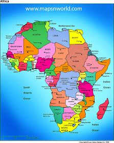 africa political map bigger size | politics in 2019 | African map