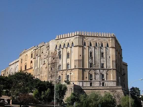 Sicilia - Palermo, Palazzo dei Normanni