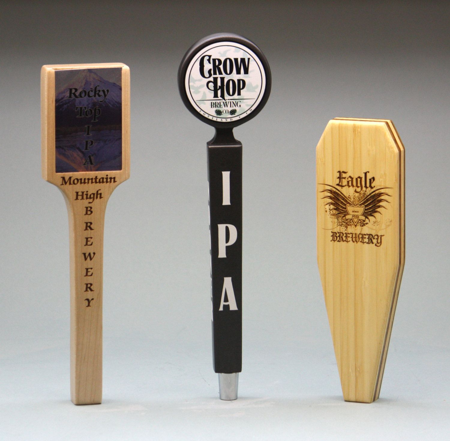 Custom beer tap handle fully personalized custom shape custom custom beer tap handle fully personalized custom shape custom wood beer tap handle sciox Gallery