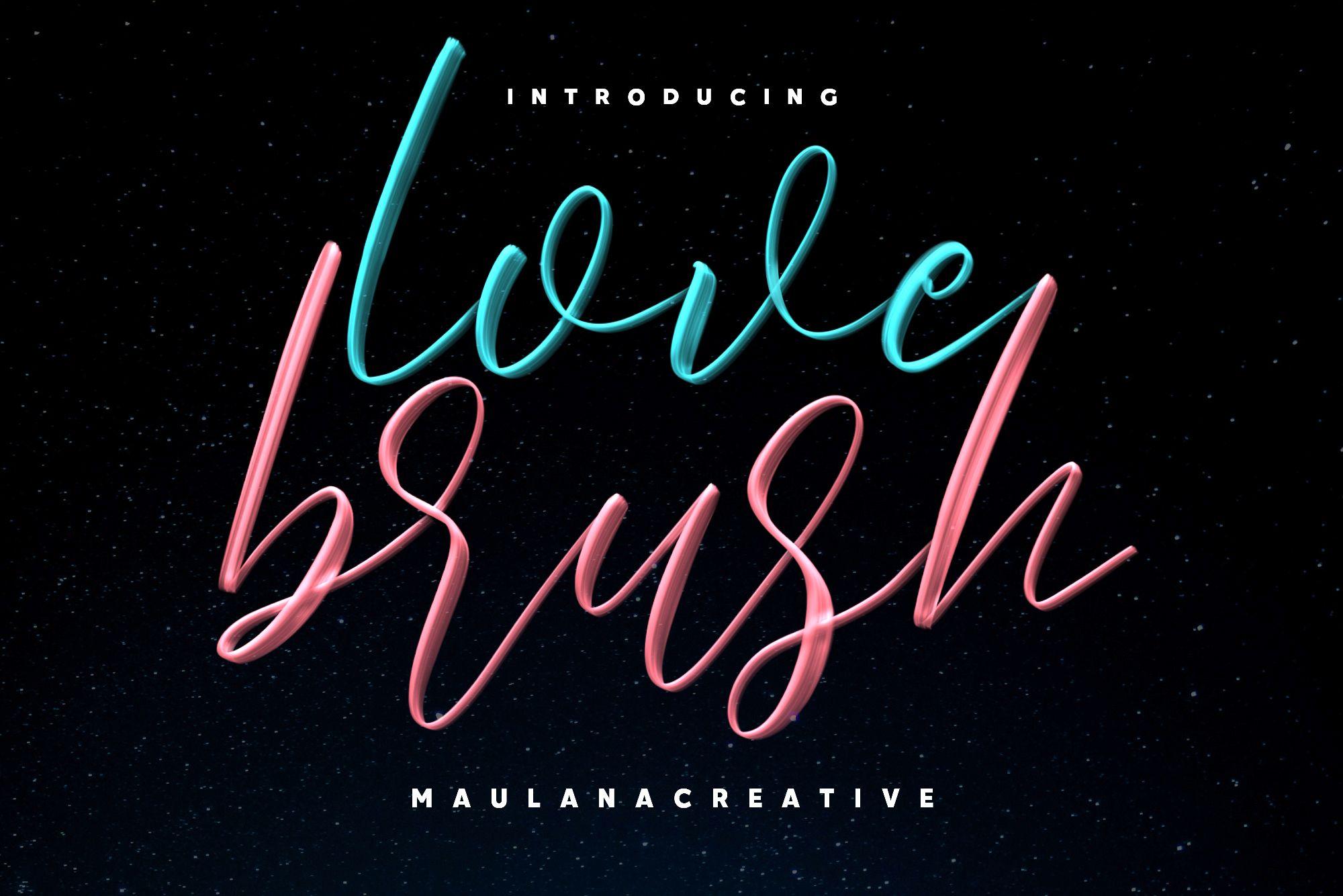 Loutters Brush Font Brush Fonts Free Brush Font Free Script Fonts