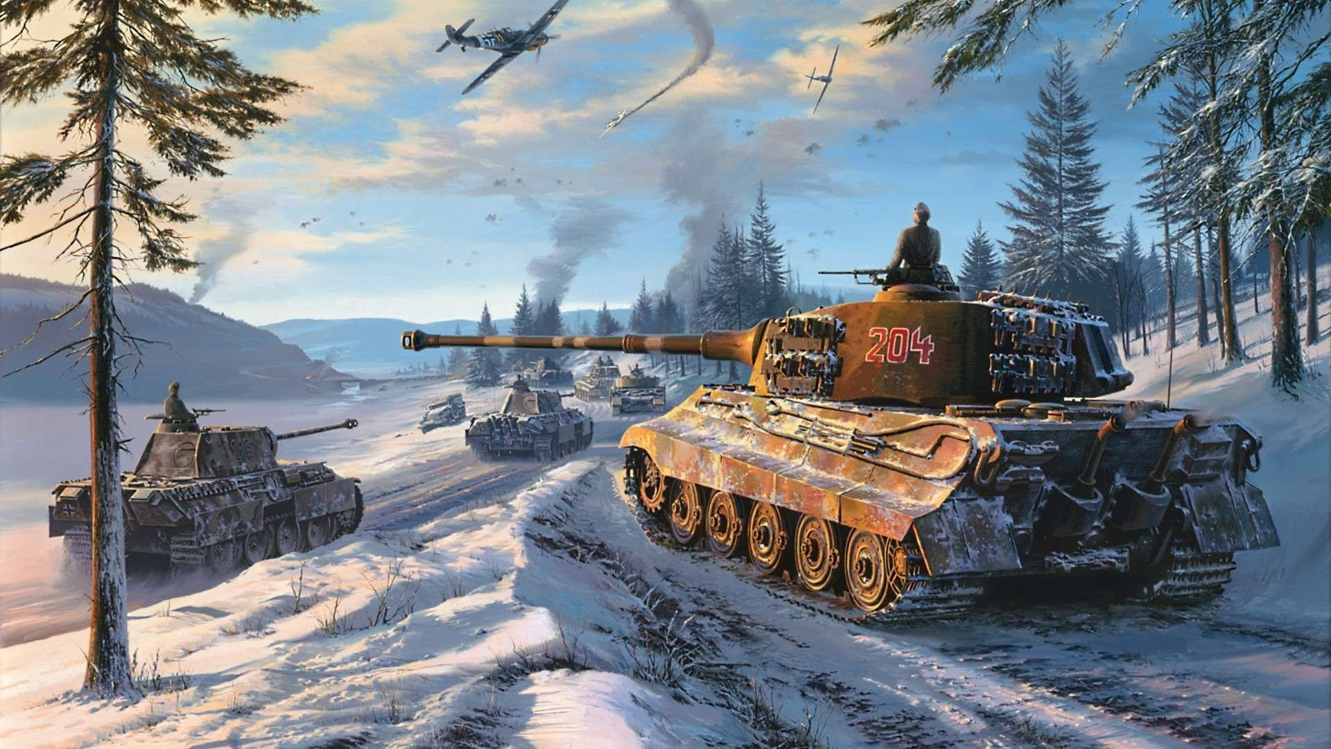 Tiger Tank Hd Wallpapers Backgrounds Wallpaper Tank Wallpaper War Tank Tiger Tank