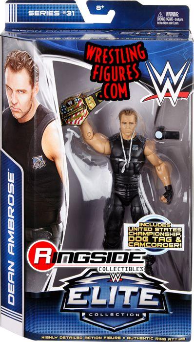 WWE DEAN AMBROSE ELITE 25 MATTEL FIGURE