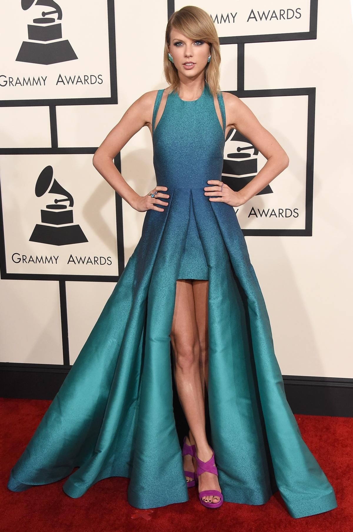 Taylor Swift Grammys 2015 Best And Worst Red Carpet Looks Red Carpet Dresses Best Taylor Swift Dress Nice Dresses