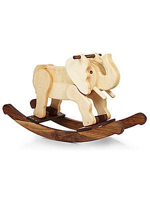Oliver & Adelaide Wooden Elephant Rocker No Color