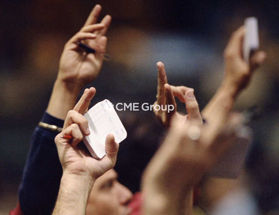 Trading Hand Signals Cme Group Risk Management Finance