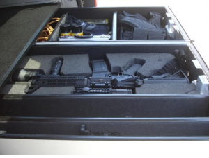 Hidden Gun Drawer Safe For Suv Secret Gun Storage Drawer