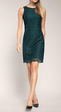 Esprit / Edles Etui-Kleid aus Spitze   Kleider, Modestil ...