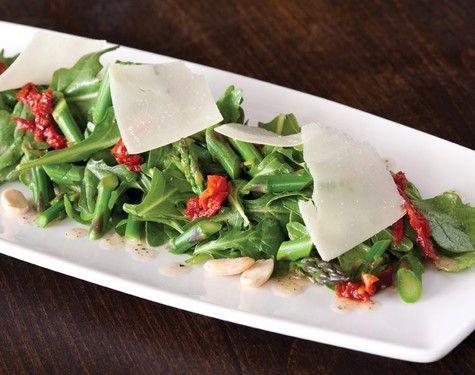california pizza kitchen asparagus and arugula salad with lemon rh pinterest com