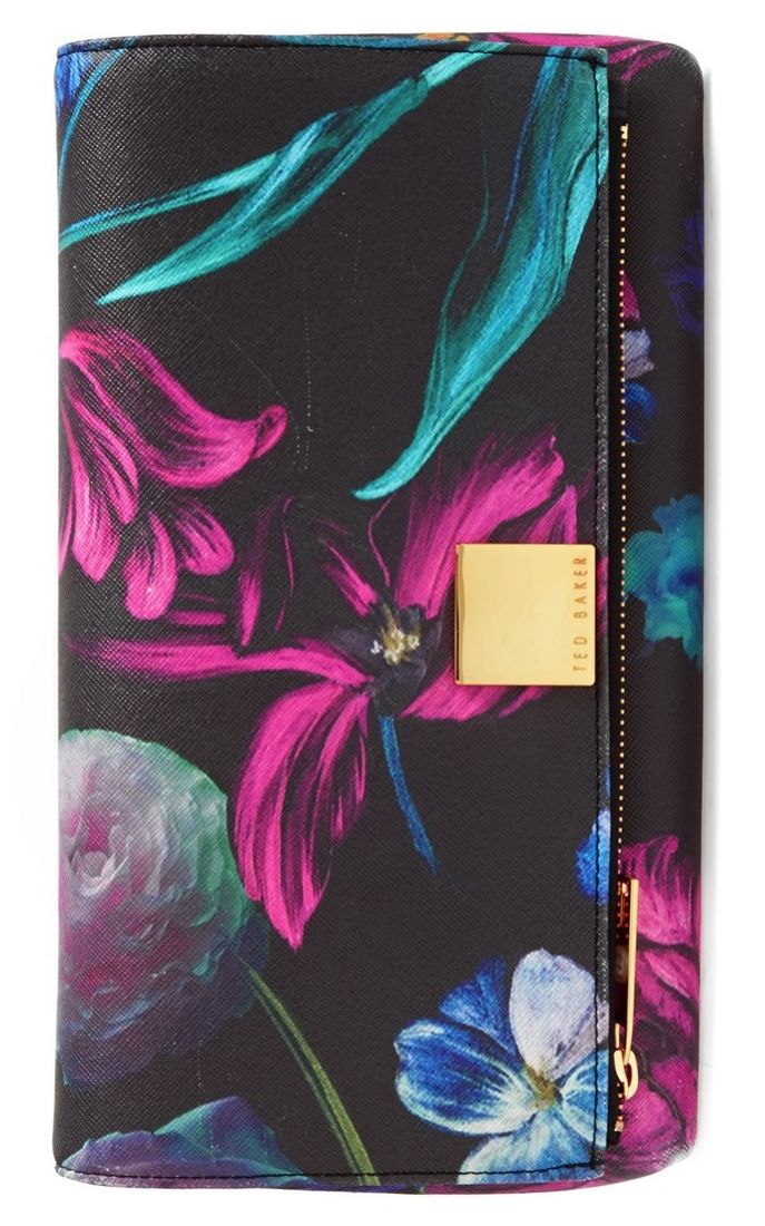 This vibrant floral Ted Baker clutch is the perfect companion for a night out with the ladies.