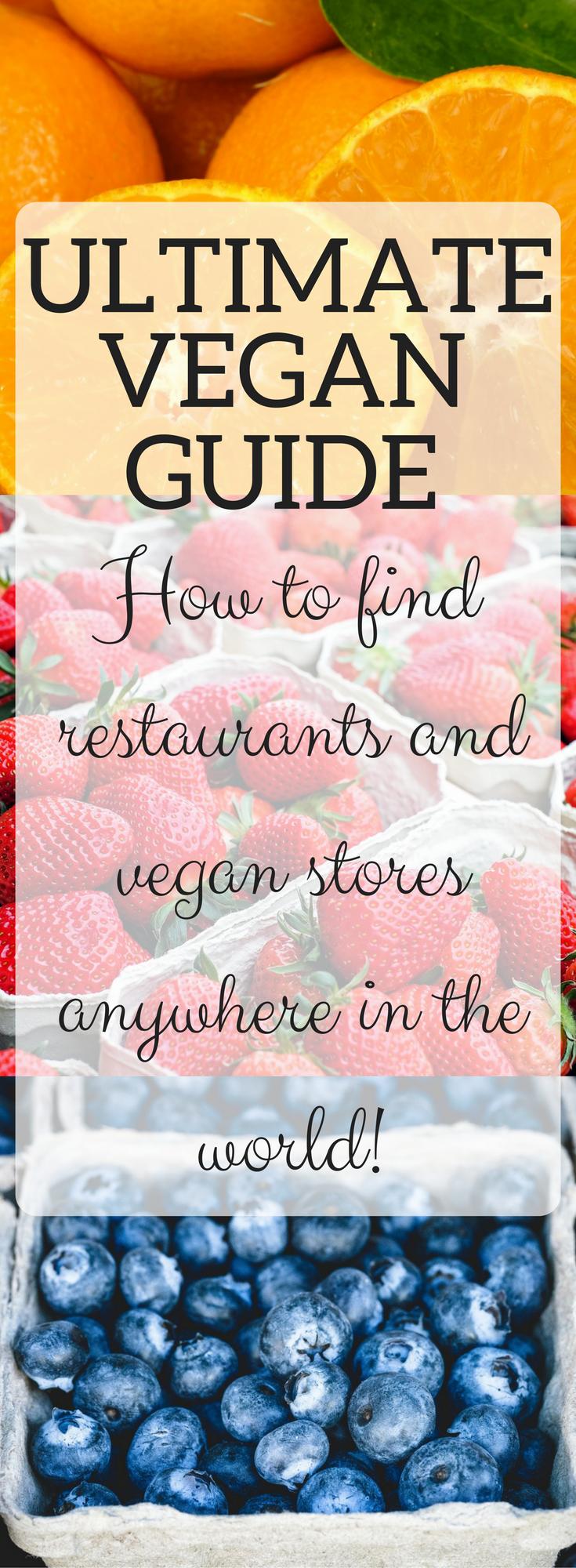 Find 'Vegan Restaurants Near Me' (DON'T use Happy Cow