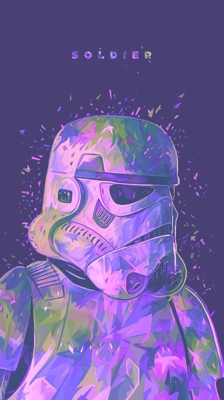 Stormtrooper shared by @MarvelousGirl94 on We Heart It