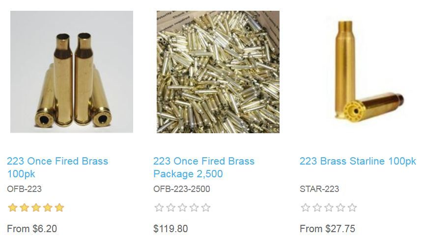223 #Brass #for #Sale and 223 Remington brass casings for sale at