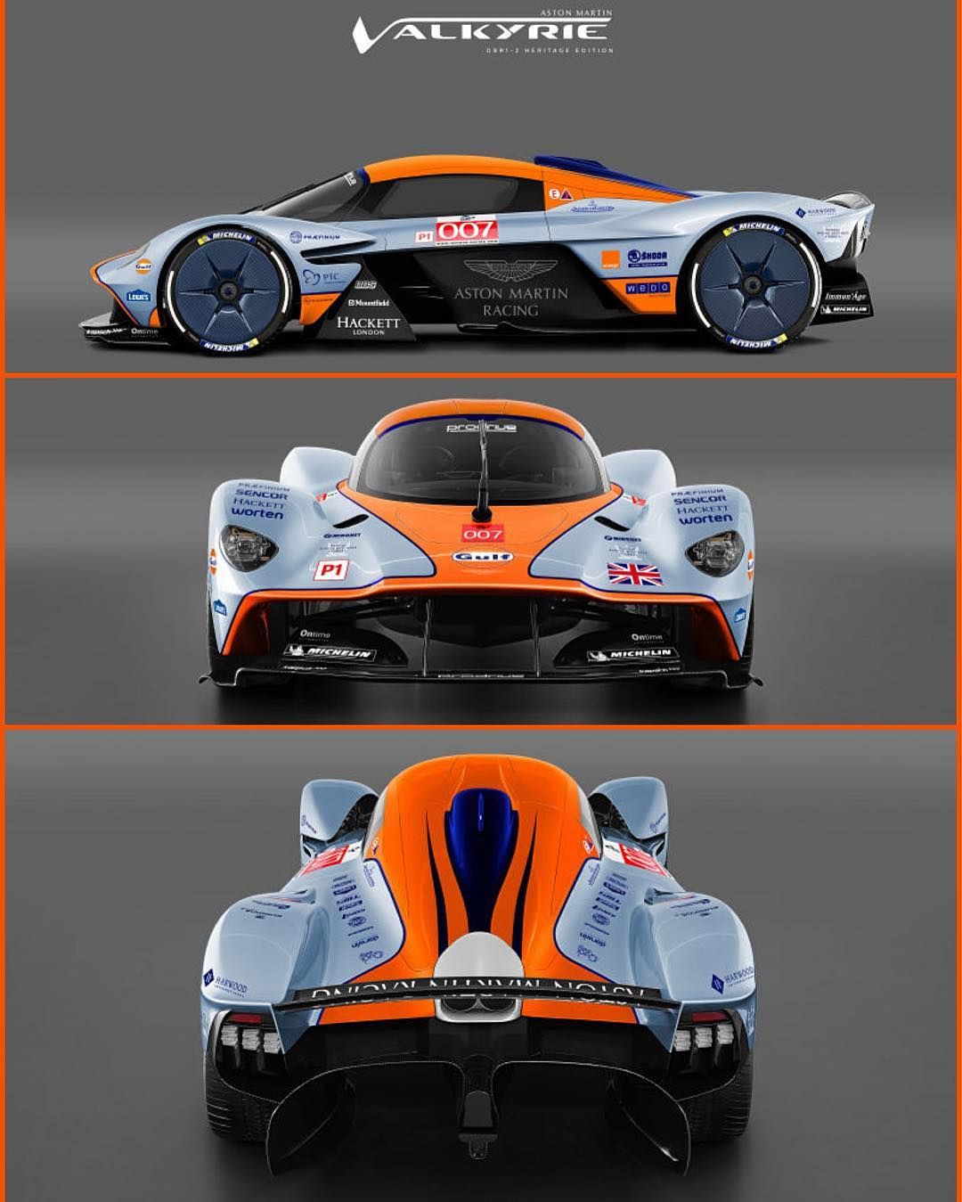 2018 le mans valkyrie gulf livery concept f1 race car pinterest concept cars cars. Black Bedroom Furniture Sets. Home Design Ideas