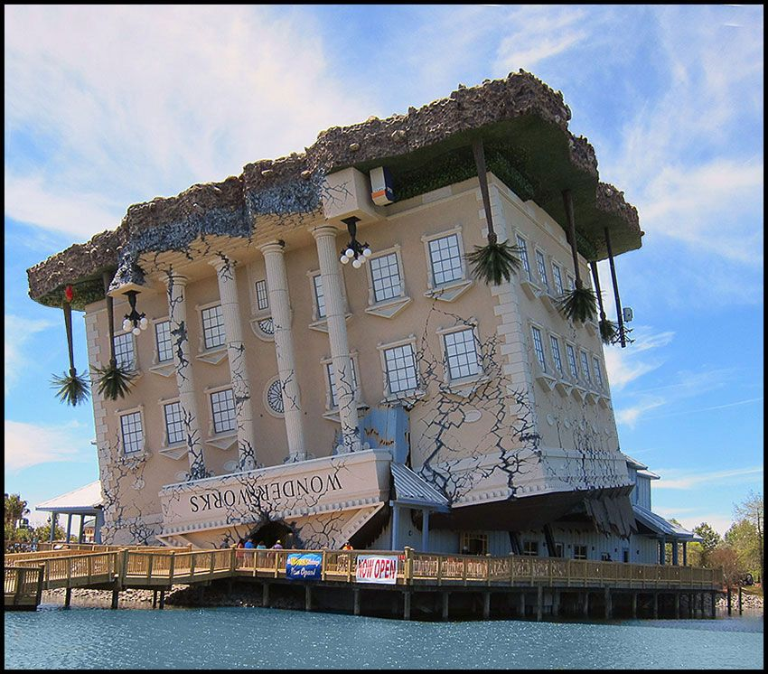 Wonderworks Upside Down House Myrtle Beach South Carolina