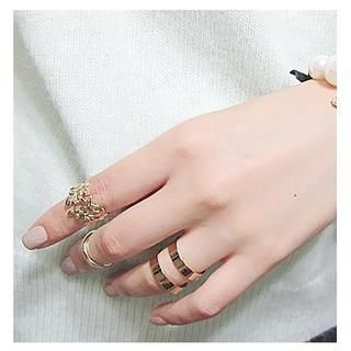 Buy 'Ticoo – Set of 3: Knuckle Rings' with Free International Shipping at YesStyle.com. Browse and shop for thousands of Asian fashion items from China and more!