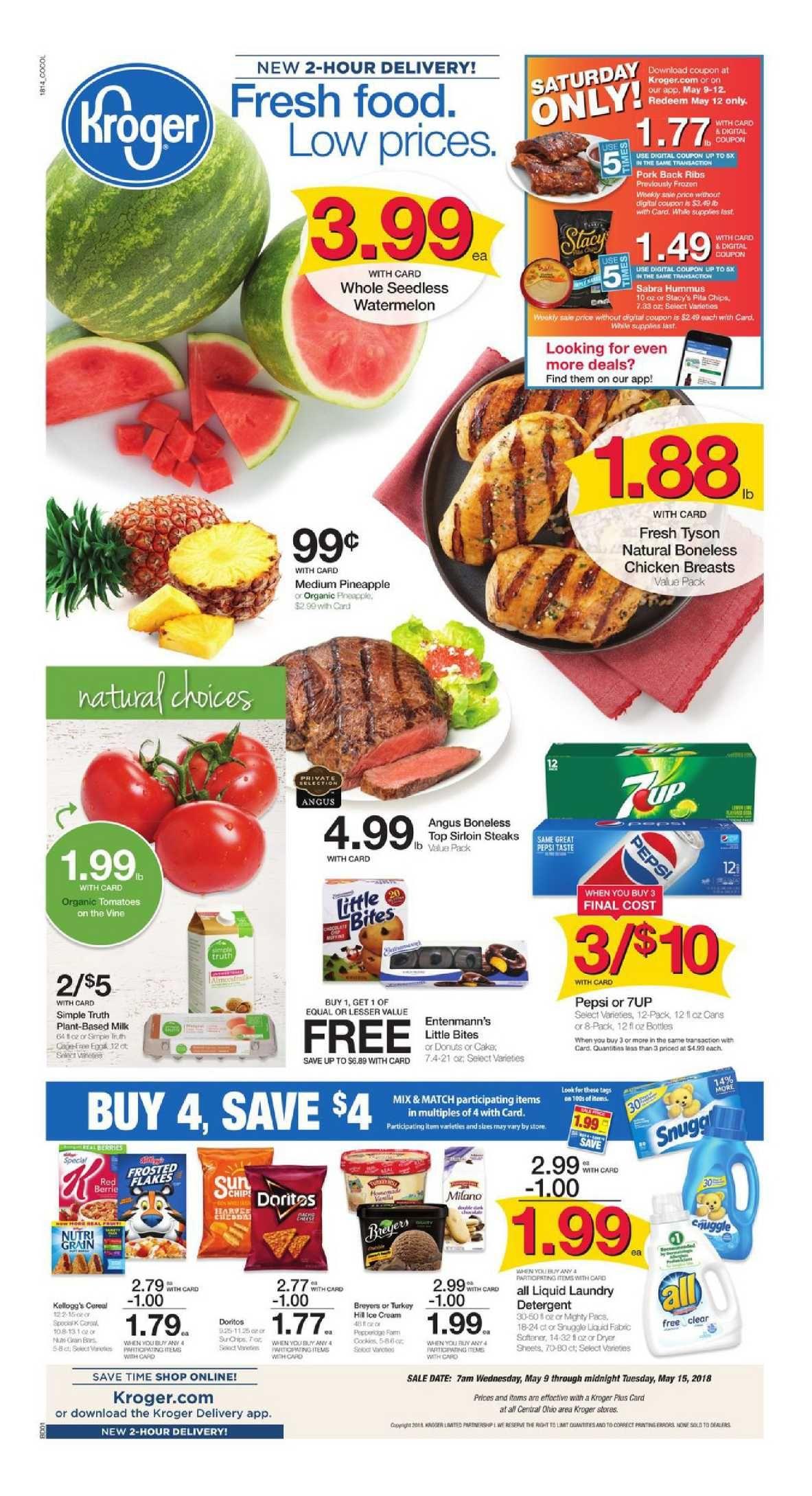 Kroger Weekly Ad Flyer March 11 17 2020 Weeklyad123 Com Weekly Ads Kroger Grocery Savings