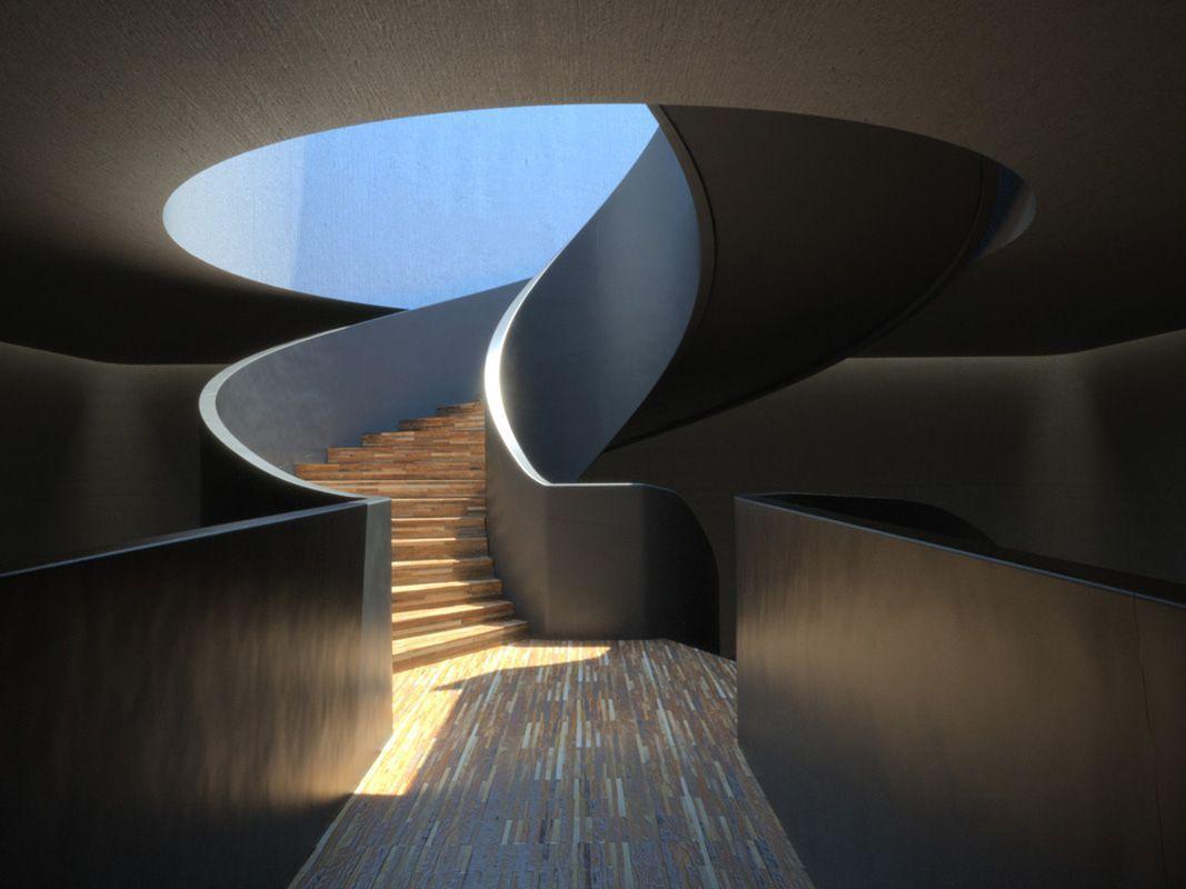 Best Massive Modern Spiral Staircase 400 x 300