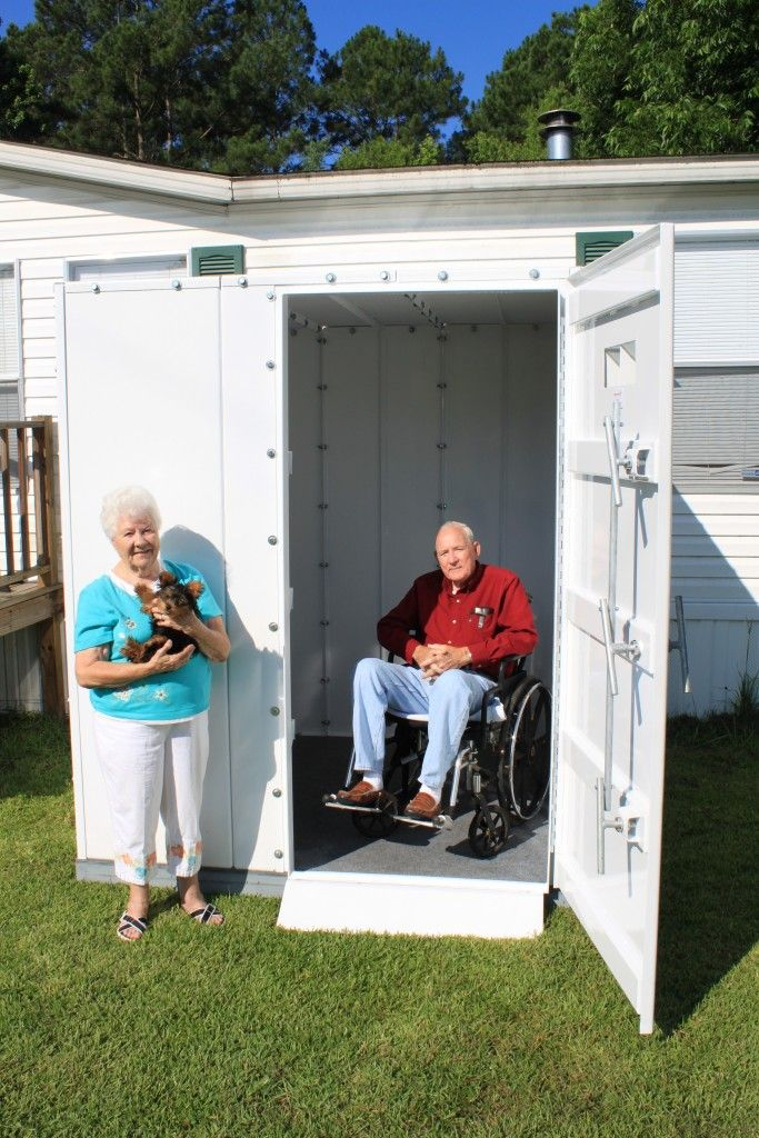 Survive-a-Storm Shelters Above Ground Tornado Shelters: Finding Safety - Survive-a-Storm Shelters