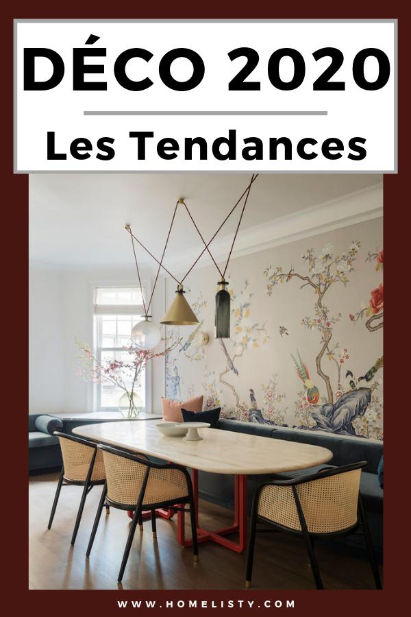 Tendance d co 2020 couleurs mati res id es - Deco murale salle a manger ...