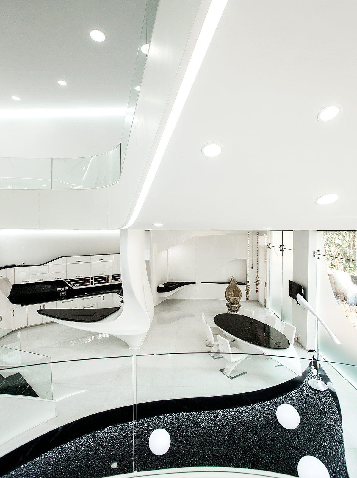 Casa elástica por Cadence Architects | Propósito, Indio y Ondas