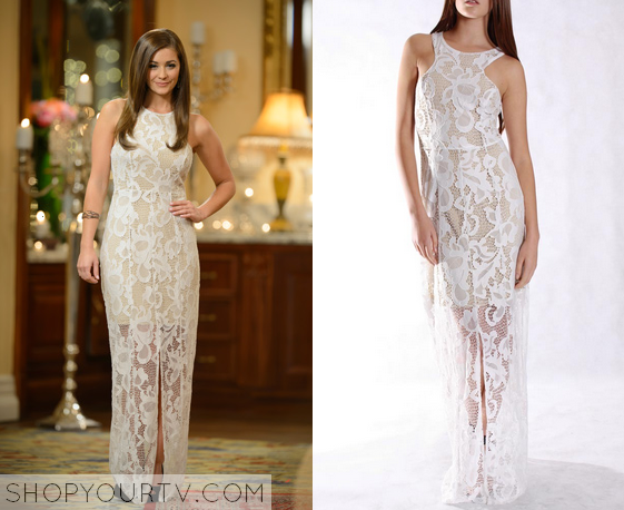 The Bachelor Au Season 2 Episode 19 Louise S Lace Dress
