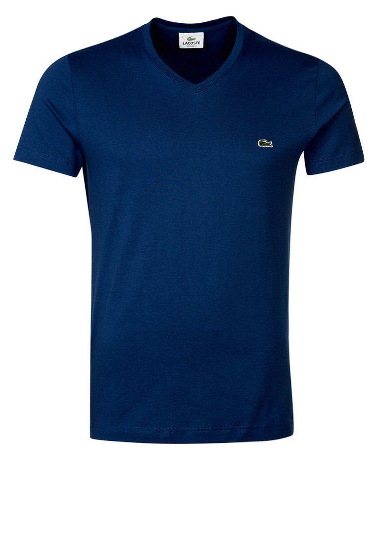 Tshirt Lacoste sur  Zalando     bleu  mode  homme   Zalando ... a8e2a77e1fa